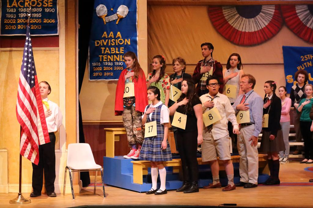 The Twenty Fifth Annual Putnam County Spelling Bee